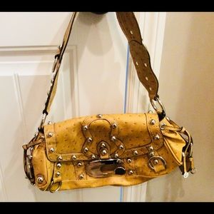 Guess Faux Ostrich Purse Like New!